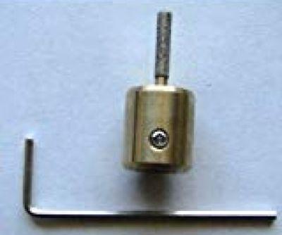 "Glastar 1//4/"" Diamond Grinding Head Bit Stained Glass Supplies"