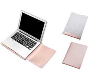 Slim Leather Case for MacBook Air with Mouse Pad