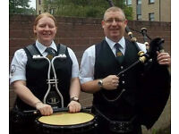 Piper & Drummer for your Wedding