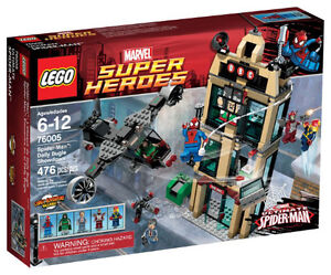 Lego set # 76005 Spider-man Daily Bugle Showdown BRAND NEW lost