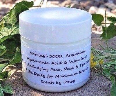 Matrixyl 3000, Argireline, Hyaluronic Acid, Vitamin C - Face, Neck & Eye Cream