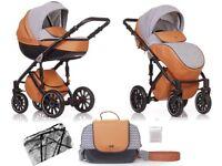 Baby pram puschair stroller ANEX sport 2 in 1