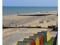 2 bed in lovely coastal village Mundesley for 3 bed most areas...