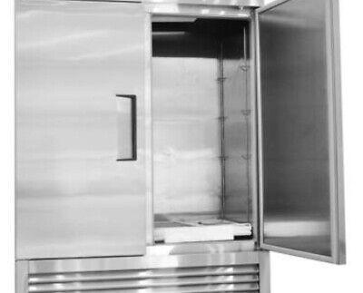 Nsf 2 Door Stainless Steel Freezer Kf49b Free Shipping