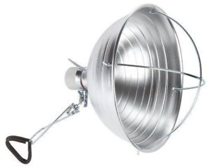 10.5 inch Clamp Light with Cage + 40W CFL Bulb (7 available)