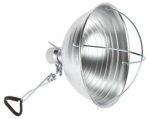 10.5 inch Clamp Light with Cage + 40W CFL Bulb