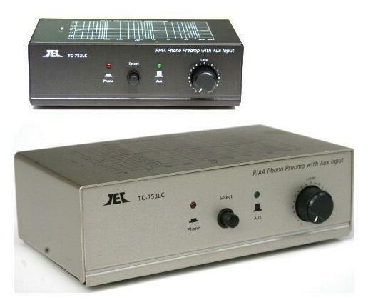 78 Phono Preamp; Switchable EQ and Turntable Selection! Technolink TC-778 RIAA