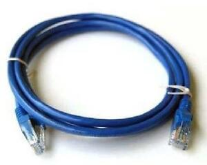 6 ft. Blue Cat7 600MHz Screened Shielded Twisted Pair (S/STP) Ne