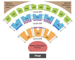 DAVE MATTHEWS BAND - 2 OR 4 TICKETS - GA PIT