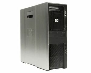 HP Z600 Dual CPU 8 Cores 8GB RAM 500GB HDD
