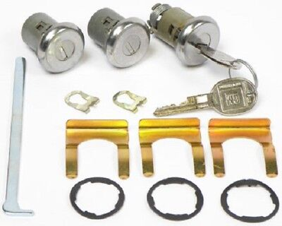 74-78, 67-68 FIREBIRD & TRANS AM / 68-69 CAMARO DOOR & TRUNK LOCK SET - SAME KEY ()