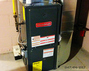 Furnaces & Air Conditioners - $2100 or $34/mth (incl install)