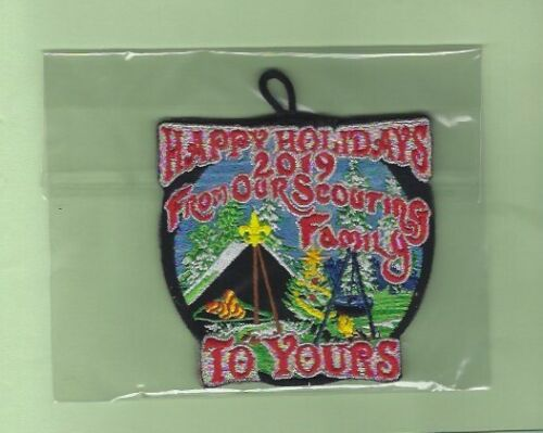 2019 BSA BOY SCOUT CHRISTMAS TREE ORNAMENT