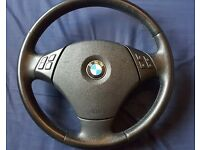 E90 se steering wheel and airbag