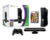 Xbox 360 Slim-last version-with Kinect+Games- FAST SALE