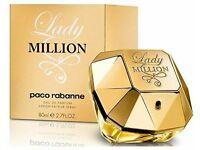 paco rabanne lady million 80ml perfume brand new sealed