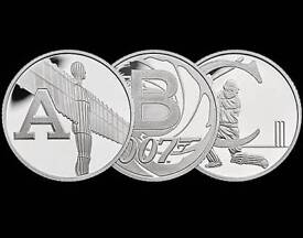A - Z Brand new 10p collection