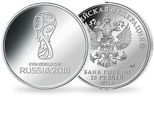 World Cup 2018 Russia Coins/ Banknotes