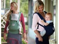 Original Ergo Baby carrier in black £30
