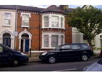 Large 4 bed maisonette in a private road aith own front door and garden
