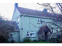 TREVOLLARD LANREATH, LOOE - RURAL 3 BED SEMI BIG GARDEN, LOVELY PEACEFUL CORNISH COUNTRYSIDE
