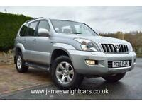 2006 Toyota LAND CRUISER 3.0 LC4 8-SEATS D-4D 5DR AUTOMATIC Estate Diesel Automa