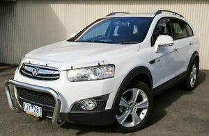 2011 Holden Captiva White Sports Automatic Wagon Dandenong Greater Dandenong Preview