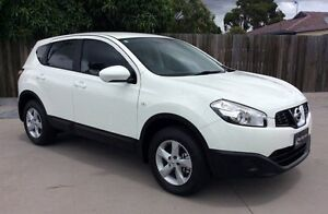 2011 Nissan Dualis J10 Series II MY2010 ST Hatch X-tronic White 6 Speed Constant Variable Hatchback Pialba Fraser Coast Preview