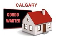 Wanted: SERIOUS BUYERS LOOKING FOR CONDOS IN CALGARY