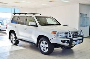 2012 Toyota Landcruiser VDJ200R MY12 VX (4x4) Pearl White 6 Speed Automatic Wagon Morley Bayswater Area Preview