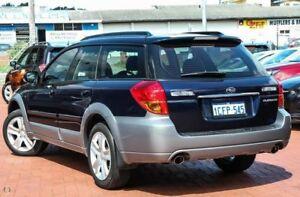 2006 Subaru Outback B4A MY06 R AWD Duotone Blue 5 Speed Sports Automatic Wagon