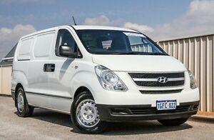 2011 Hyundai iLOAD TQ-V MY11 White 5 Speed Manual Van Wangara Wanneroo Area Preview