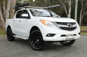 2011 Mazda BT-50 UP0YF1 GT White 6 Speed Sports Automatic Utility Southport Gold Coast City Preview