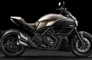 New and unused Ducati Diavel exhaust