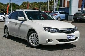 2011 Subaru Impreza G4 MY12 2.0i AWD White 6 Speed Manual Hatchback Myaree Melville Area Preview