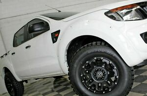2012 Ford Ranger PX XL 2.2 HI-Rider (4x2) White 6 Speed Automatic Crew Cab P/Up Burleigh Heads Gold Coast South Preview