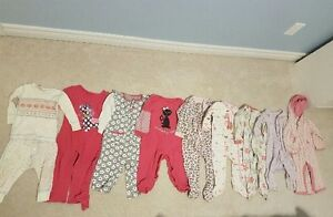 12-18 month girls PJ lot