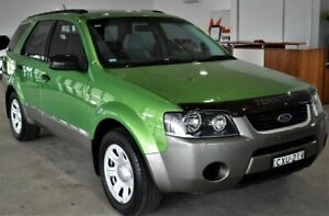 2005 Ford Territory SX TX AWD Green 4 Speed Sports Automatic Wagon