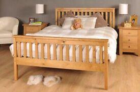 Atlantis Wooden Pine Bed