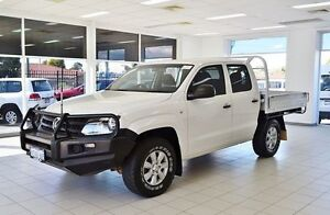 2012 Volkswagen Amarok 2H MY12.5 TDI420 (4x4) White 8 Speed Automatic Dual Cab Chassis Morley Bayswater Area Preview