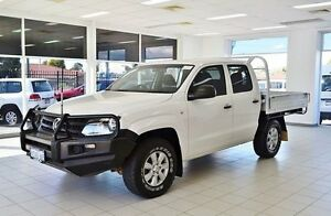2012 Volkswagen Amarok 2H MY12.5 TDI420 (4x4) White 8 Speed Automatic Dual C/Chas Morley Bayswater Area Preview