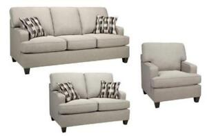 BEIGE SOFA SET SALE (ND 56)