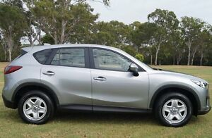 2013 Mazda CX-5 KE1071 MY14 Maxx SKYACTIV-MT Silver 6 Speed Manual Wagon Bundaberg Central Bundaberg City Preview