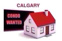 Wanted: SERIOUS BUYS LOOKING FOR CONDOS IN CALGARY