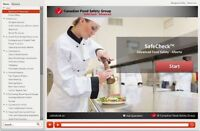 Food Safety Certificate $48 - Online - includes online exam