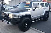 2008 Hummer H3 Luxury Silver 4 Speed Automatic Wagon Woodridge Logan Area Preview