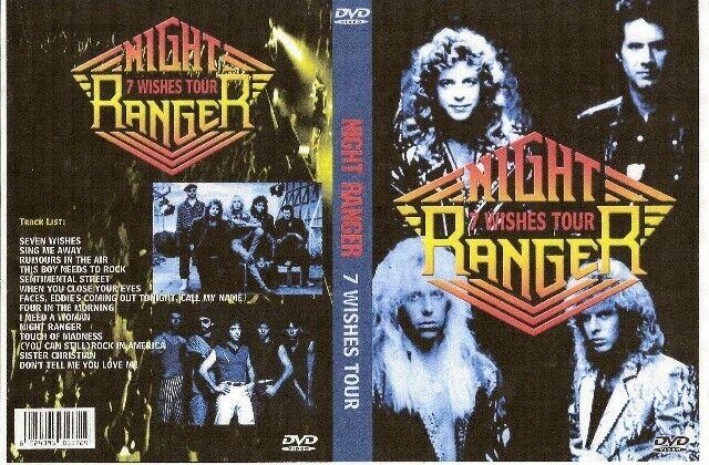 night ranger 7 wishes tour dvd 1988 damn yankees whitenake styx