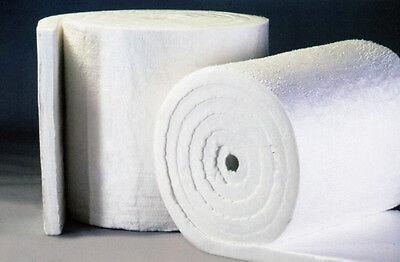 Ceramic Fiber Blanket 8 Lb Density 2 X 24 X 12.5 Roll 2300f