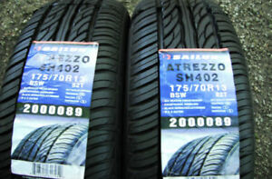 NEW PAIR - 175 70 13 - SAILUN ATREZZO - ALL SEASON TIRES - x2