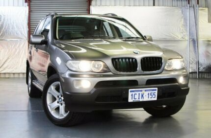 2006 BMW X5 E53 MY06 Steptronic Grey 5 Speed Sports Automatic Wagon Myaree Melville Area Preview